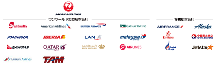 jalcard_oneworld_airlines